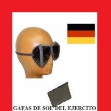Militaria: GAFAS DE SOL DEL EJERCITO DE DEFENSA FEDERAL DE ALEMANIA CON ESTUCHE NUEVO SIN USAR NUEVO, . Lote 145693030