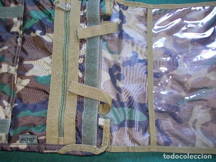 MOCHILA PORTA PLANOS NUEVA ALTUS (Militar - Equipamiento de Campaña)