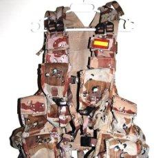 Militaria: CHALECO TACTICO MILITAR MIMETIZADO ARIDO. Lote 146589878