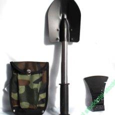 Militaria: PALA SURVIVAL DESMONTABLE CON HACHA CORTE HERRAMIENTA SIERRA 33043. Lote 147331574