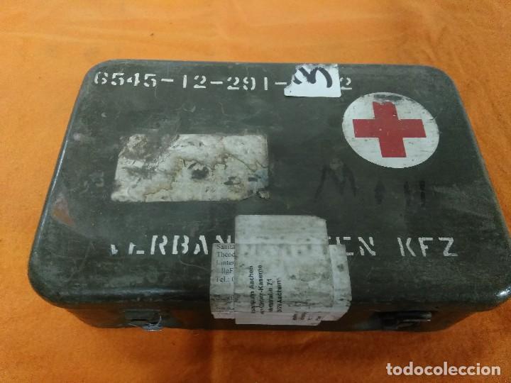 BOTIQUIN ALEMAN VEHICULO MILITAR (Militar - Equipamiento de Campaña)