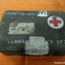 Militaria: BOTIQUIN ALEMAN VEHICULO MILITAR . Lote 147493862
