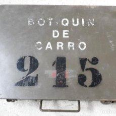 Militaria: BOTIQUÍN DE CARRO. Lote 148305770