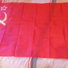 Militaria: BANDERA ROJA URSS CCCP RED ARMY - UNIÓN SOVIÉTICA. Lote 150123970