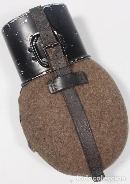 CANTIMPLORA MOD. 31, (FELDFLASCHE 31 UND TRINKBECKER), ORIGINAL ALEMÁN SEGUNDA GUERRA MUNDIAL (Militar - Equipamiento de Campaña)