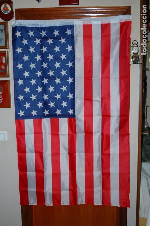USA. BANDERA. 90 X 150 (Militar - Equipamiento de Campaña)