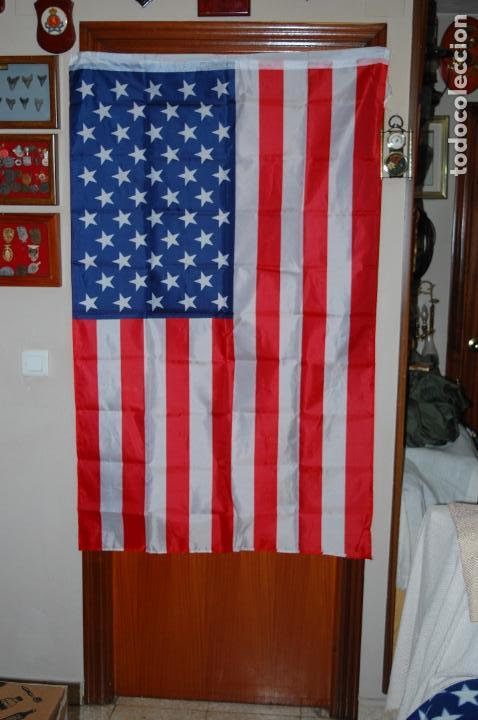 Militaria: USA. BANDERA. 90 X 150 - Foto 2 - 150727190