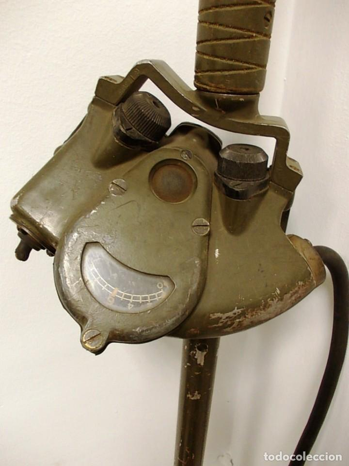 Militaria: Antiguo detector de minas del cuerpo de señales milatres del ejercito de los estados unidos - Foto 4 - 150815646