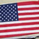 Militaria: USA. PEQUEÑA BANDERA DE LAS LLAMADAS DE MOCHILA. Lote 151244217