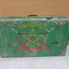Militaria: MALETA TIRADORES DE IFNI. Lote 152014762