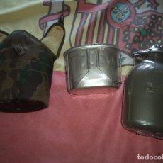 Militaria: CANTIMPLORA CON FUNDA BOSCOSA Y CAZILLO. Lote 153520330