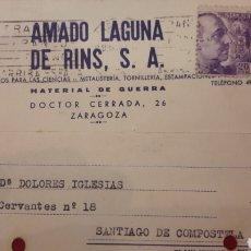 Militaria: ZARAGOZA MATERIAL GUERRA AMADO LAGUNA DE RIND METALISTERÍA APARATOS CIENCIAS. Lote 156706920