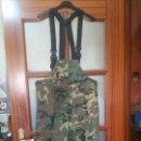Militaria: PANTALON PETO DE INTERPERIE, NUEVO, T / G. Lote 160894554
