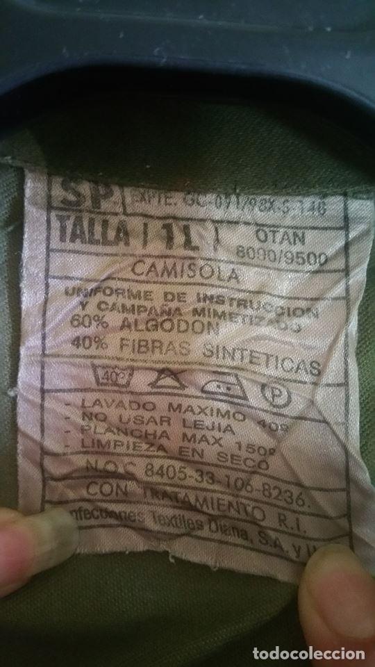 Militaria: CAMISOLA DE CAMPAÑA MILITAR - Foto 3 - 161120350
