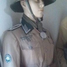 Militaria: FUNDA ORIGINAL ALEMANA PARA PRISMATICOS UTILIZADA AFRIKAKORPS Y ITALIA PERFECTO ESTADO. Lote 162099538