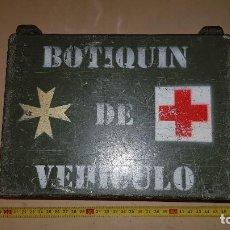 Militaria: EJÉRCITO ESPAÑOL. BOTIQUÍN METÁLICO. Lote 162210234