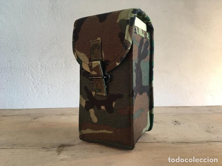 Militaria: Funda de equipamiento del ejército militar - Nueva, sin estrenar - Estuche con hebilla, camuflaje - Foto 2 - 166129508