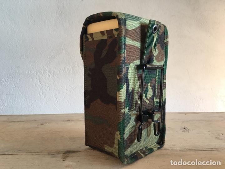 Militaria: Funda de equipamiento del ejército militar - Nueva, sin estrenar - Estuche con hebilla, camuflaje - Foto 3 - 166129508