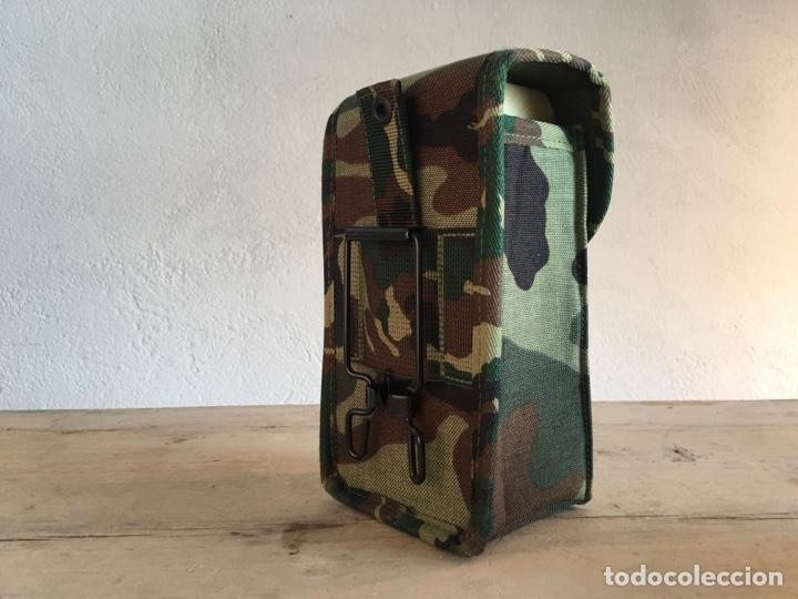 Militaria: Funda de equipamiento del ejército militar - Nueva, sin estrenar - Estuche con hebilla, camuflaje - Foto 4 - 166129508