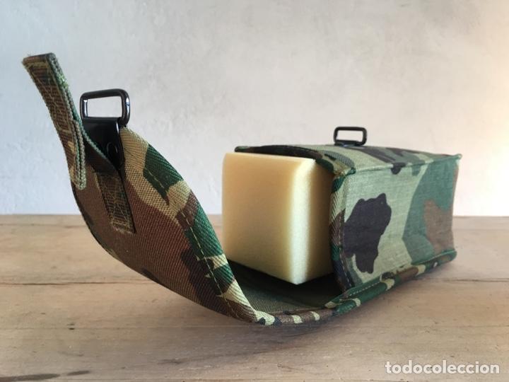 Militaria: Funda de equipamiento del ejército militar - Nueva, sin estrenar - Estuche con hebilla, camuflaje - Foto 5 - 166129508