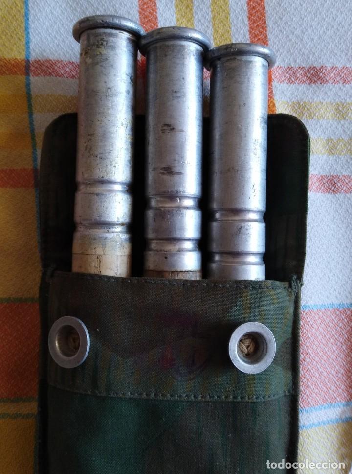 Militaria: Bolsa palos y piquetas para poncho tipo Zelbathn - Foto 6 - 166183286