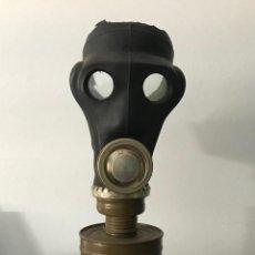 Militaria: ANTIGUA MÁSCARA DE GAS MILITAR - MÁSCARA ANTI-GAS..... Lote 166421022