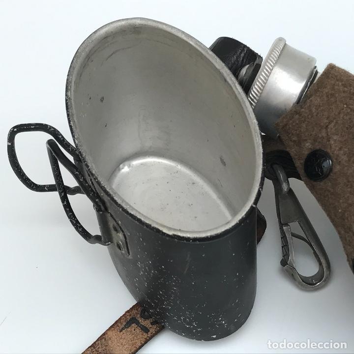 Militaria: Cantimplora de la Wehrmacht. Segunda Guerra Mundial. Original. - Foto 4 - 168399464