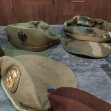 Militaria: BOINAS Y GORRAS MILITARES. Lote 172122485