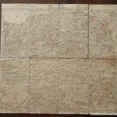 Militaria: MAPA MILITAR PLEGABLE DE 1920. Lote 172380122