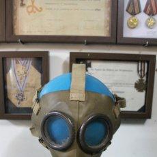Militaria: MASCARA ANTIGAS ALEMANA + INGLESA II GUERRA MUNDIAL. Lote 172896644
