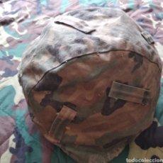 Militaria: FUNDA DE CASCO MIMETIZADA. Lote 174323737