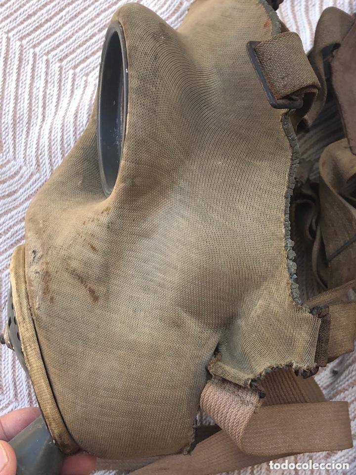 Militaria: Lote de 2 máscaras antigas antiguas - Foto 3 - 228339540