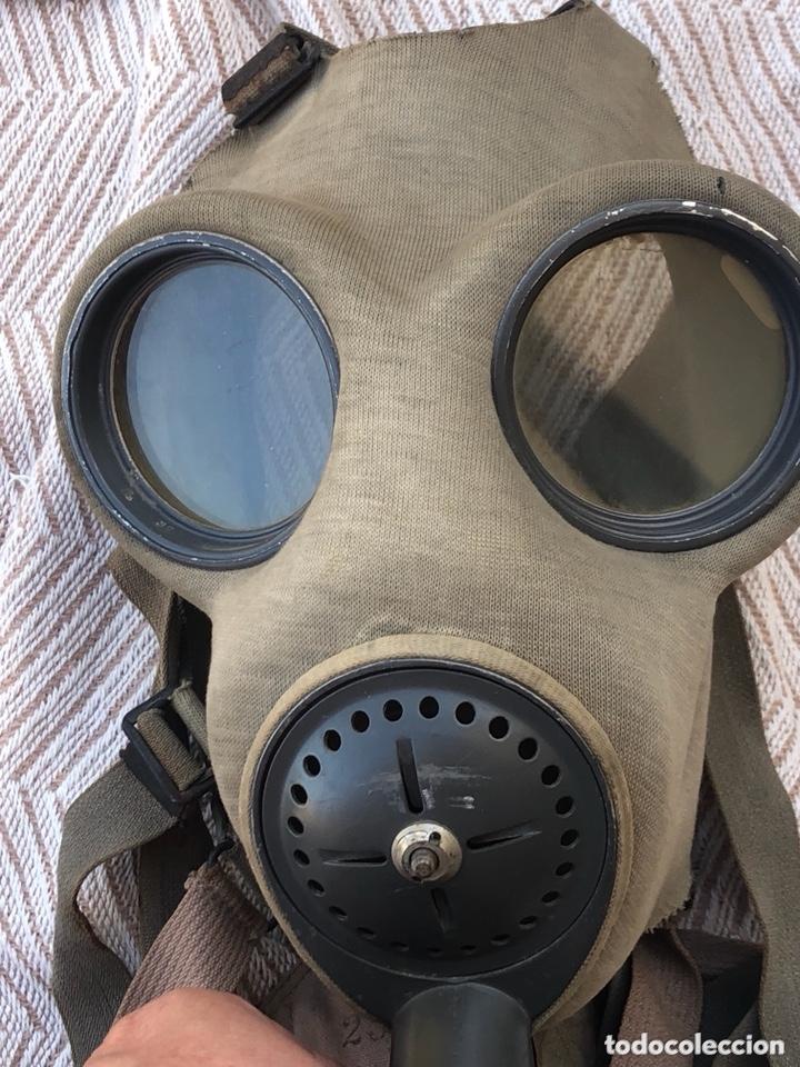 Militaria: Lote de 2 máscaras antigas antiguas - Foto 5 - 228339540