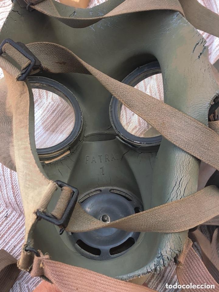 Militaria: Lote de 2 máscaras antigas antiguas - Foto 7 - 228339540