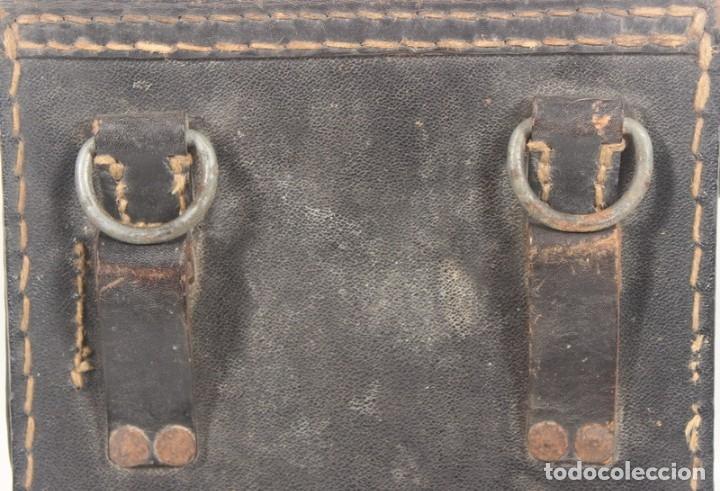 Militaria: Porta planos (Meldekartentasche) – porta partituras, original alemán Segunda Guerra Mundial. - Foto 4 - 176606629