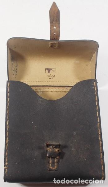 Militaria: Porta planos (Meldekartentasche) – porta partituras, original alemán Segunda Guerra Mundial. - Foto 6 - 176606629