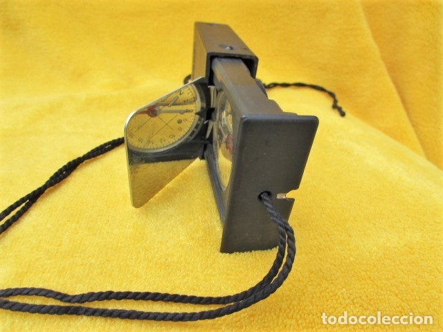 Militaria: Brújula Recta de Bolsillo, fabricada en Suiza. - Foto 4 - 189795677