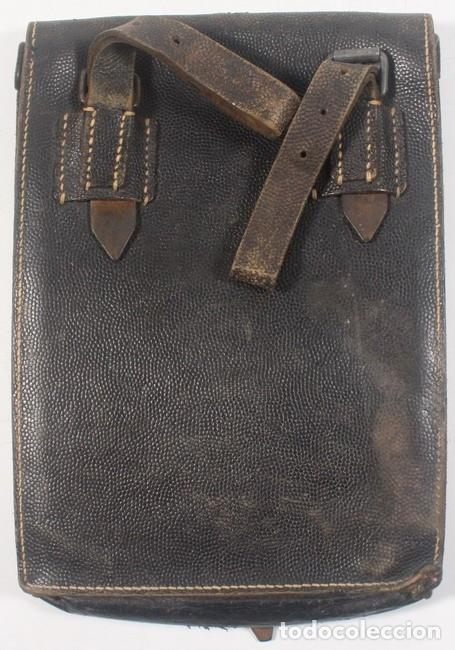 Militaria: Porta planos modelo 1935 (Meldekartentasche), original alemán Segunda Guerra Mundial - Foto 2 - 180255815