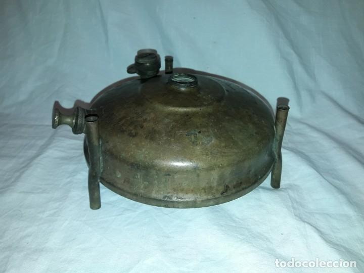 Militaria: Magnifica pieza de colección deposito de cocina Primus gasolina de bronce nº 488 años 50 Sweden - Foto 6 - 182736598