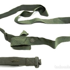 Militaria: CORREAS FUNDA MASCARA DE GAS ALEMANA. 2GM. Lote 182738697