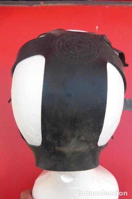 Militaria: Mascara facial respiratoria Nemrod...equipo contraincendios..Años 80.Original Nemrod-usada. - Foto 3 - 183277250
