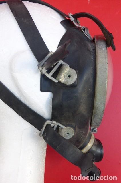 Militaria: Mascara facial respiratoria Nemrod...equipo contraincendios..Años 80.Original Nemrod-usada. - Foto 5 - 183277250