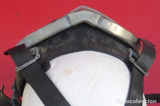Militaria: Mascara facial respiratoria Nemrod...equipo contraincendios..Años 80.Original Nemrod-usada. - Foto 7 - 183277250