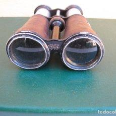 Militaria: RAROS PRISMÁTICOS DE CAMPAÑA OFICIAL. INICIALES GRABADAS. JEMA SPECIAL. Lote 183294622