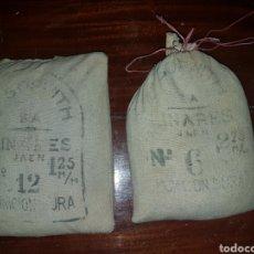 Militaria: MUNICIÓN DURA LINARES N° 12 Y 6. SACOS DE 10KG CADA UNO. Lote 183526273