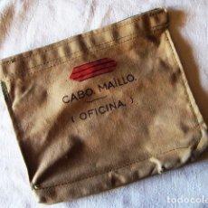 Militaria: CARPETA PORTA-DOCUMENTOS MILITAR EN LONETA, COLOR 'GARBANZO' (REGULARES). AÑOS 70. ÉPOCA DE FRANCO. Lote 183739932