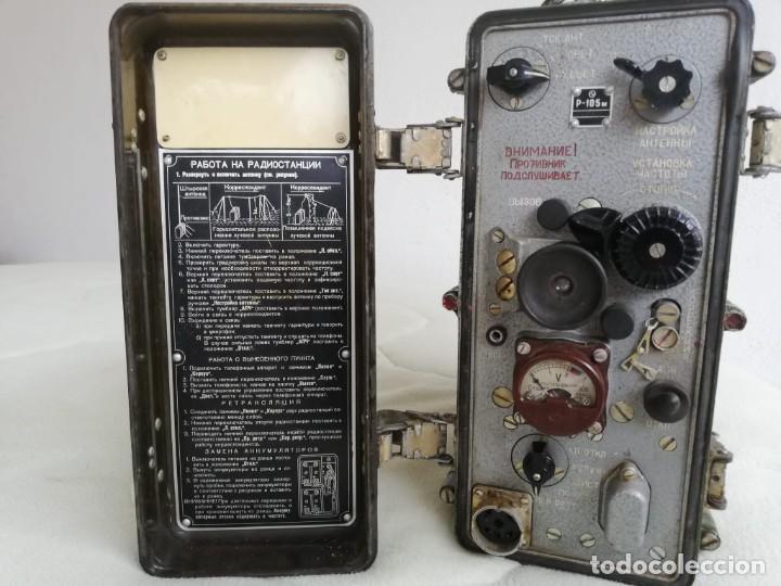 Militaria: RADIOEMISORA RUSA 1973 BAQUELITA - Foto 4 - 185714790