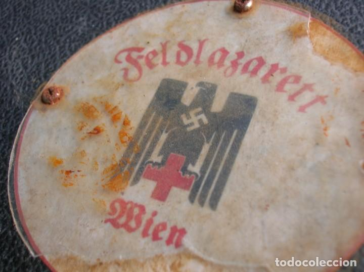 Militaria: RARO MALETIN ALEMÁN CON INSTRUMENTAL MEDICO. DEUTSCHE ROTES KREUZ. II GUERRA MUNDIAL. DIVISION AZUL. - Foto 4 - 186294331