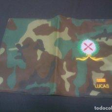 Militaria: PORTA DOCUMENTOS MILITAR ASPAS DE SAN ANDRES. Lote 189595901