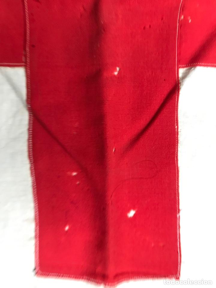 Militaria: Antigua bandera De la Cruz roja - Foto 3 - 191586736
